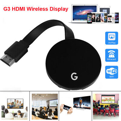 2.4G/5G WiFi HDMI Miracast Airplay TV 1080P Wireless Display DLNA Dongle Adapter