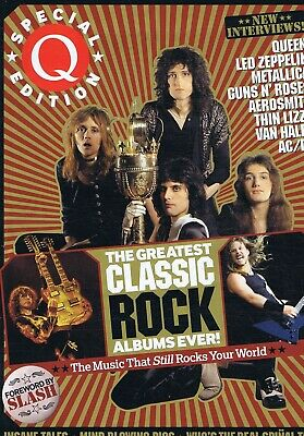 GREATEST CLASSIC ROCK ALBUMS EVER	Q 	Special Edition