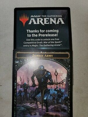 MTG Arena War of the Spark Prerelease Code - Free Competitive Draft