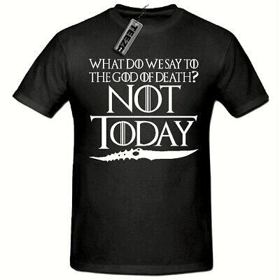 Not Today T Shirt,God Of Death Arya Stark T Shirt, Game Of Thrones T Shirt