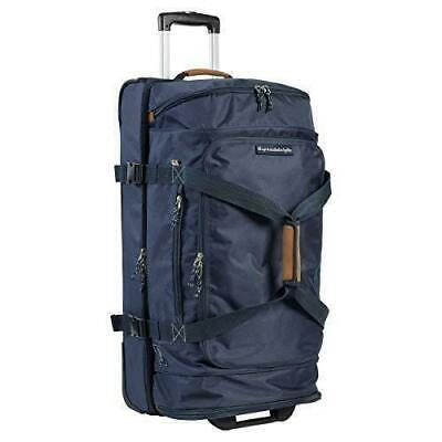 "Skyway Two Compartment Rolling Duffel Bag Suitcase Travel Bag 76.2cm/30"" New"