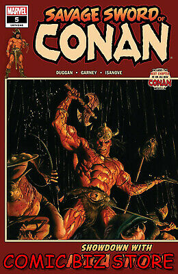 Savage Sword Of Conan #5 (2019) 1St Print Alex Ross Main Cover Marvel Comics