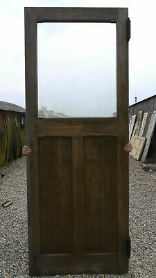 XXL04 (35 3/4 x 93 3/4) Extra Large Old Reclaimed Wooden Front Door nr York