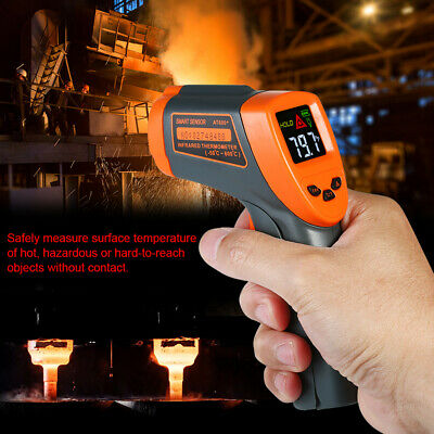Lx_ Mini Handheld Lcd Digital Non-Contact Ir Infrared Thermometer Temperature