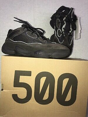 online store b5a48 fda6b ADIDAS YEEZY 500 Utility Black UK9.5 US10 Brand New in hands ...