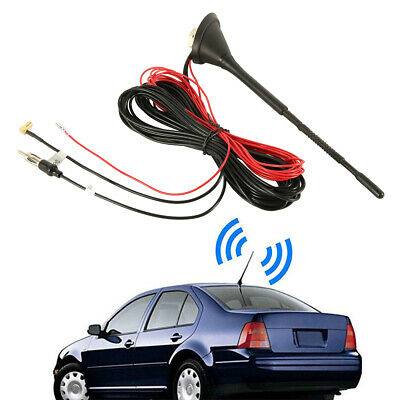 Universal Car Aerial Antenna Roof Mount Active Amplified DAB AM/FM Radio  Mast