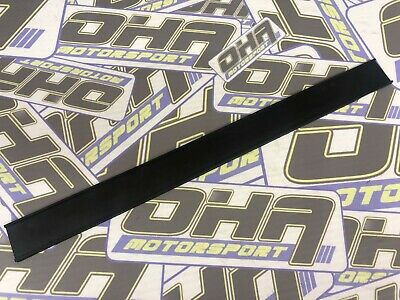 OHA Motorcycle Exhaust Can Silencer Hanger Bracket Rubber Strap Strip NEW BLACK