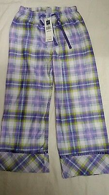 Gap Girls Checked Pyjama Trousers Age 6