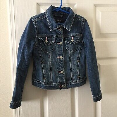Gap Kids Girls Denim Jean Jacket Small