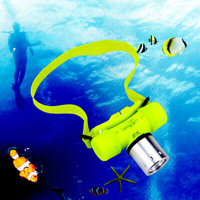 SKYWOLF LED Waterproof 50000Lm Outdoor Underwater Diving Flashlight Headlight