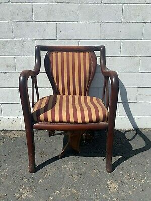 Antique Armchair Wood Chair Traditional Victorian Vintage Entry Way Seating
