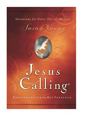Jesus Calling: Enjoying Peace in His Presence by Sarah Young: New Hardcover Book