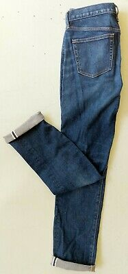 13b88c30 Uniqlo Men's 32 x 34 Kaihara Fabric Selvedge Slim Straight Denim Blue Jeans  NWOT