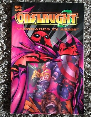 Onslaught Volume 3: Comrades in Arms (X-Men) (Fantastic Four) (Avengers) (Marvel