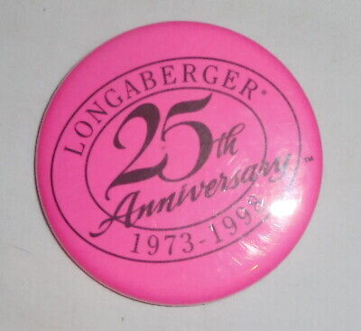 Novelty Cute 46th Birthday 25mm Button Badge MADE IN 1973-1 inch