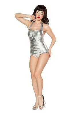 d087eed28f25d NEW NWOT ESTHER Williams Plus Size Pin-Up Nautical Anchor One-Piece ...