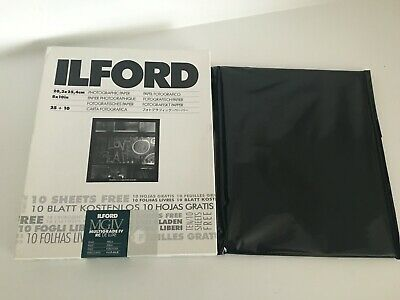 Ilford 8x10 Multigrade IV RC Deluxe Pearl Photographic Paper 35 New + 24 Sheets