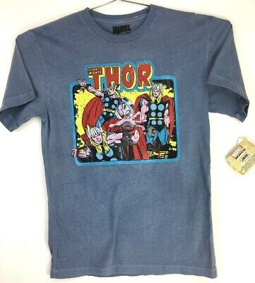 VINTAGE STYLE THE MIGHTY THOR Marvel Comics T-Shirt  SZ M