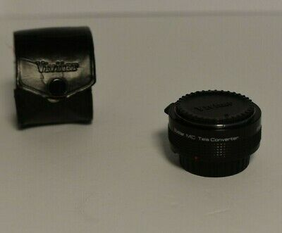 Vivitar Mc Tele Converter 2x-3 Made In Japan Lens
