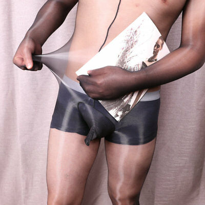 Unisex 1D Ultra Shiny Sheer Full Bodystocking Men Women bodysuit Glossy Gloves