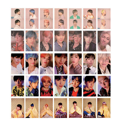 Kpop BTS Map of the Soul Persona Photo Card Boy with Luv Album Photocard Poster