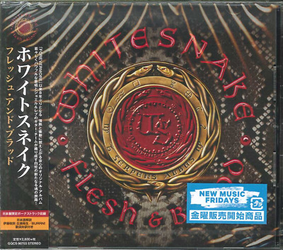 Japan Only Bonus Track - Cd With Obi Sent From Berlin! Whitesnake Flesh & Blood