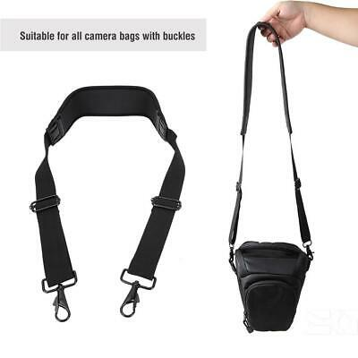 Elastic Camera Shoulder Strap Belt For SLR DSLR Nikon Canon Panasonic Camera Bag