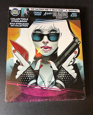 Atomic Blonde [ Limited STEELBOOK Edition ] (4K Ultra HD Blu-ray Disc) NEW