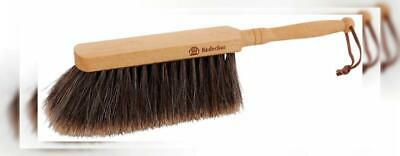 Redecker Hand Brush with Slit Horse Hair, Oiled Beechwood With Horsehair