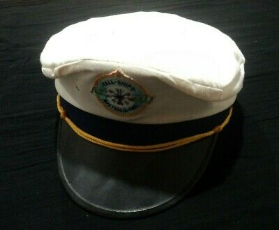 Vintage 1988 Expo Tall Ships Commemorative Hat