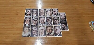 Vintage Antique Collector Cards x17 A Man Of Stamina 6