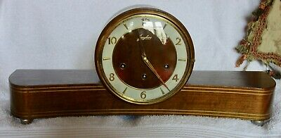 Art Deco Junghans Westminster Chime Clock - Running Well - Good Time Keeper