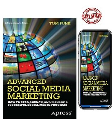 Advanced Social Media Marketing:EBOOK PDF WITH RESELL RIGHTS DELIVERY 12hrs