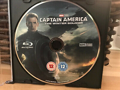 Captain America:The Winter Soldier (Blu-ray, 2019) Marvel Studios Avengers