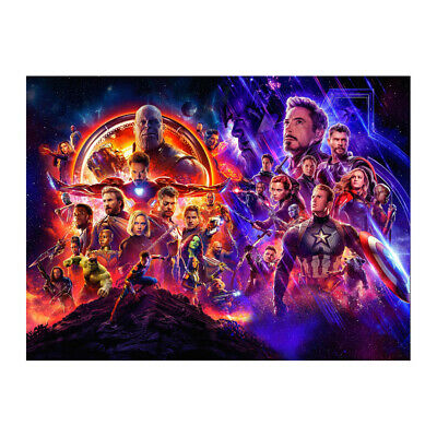 Avengers Endgame Movie Poster Wall Art Print Wall Picture 24x36