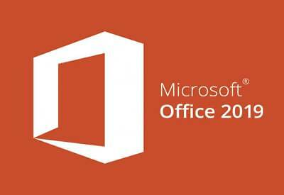 Microsoft Office 2019 Professional Plus 32/64 Bit  Software ESD - Activation Key