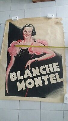 affiche spectacle annee 30 roger vacher blanche 120x160