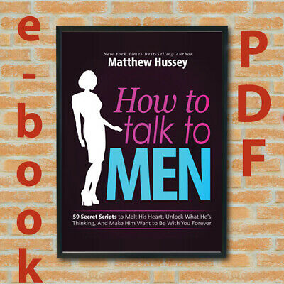 How to Talk to Men - Matthew Hussey best Seller Fast delivery