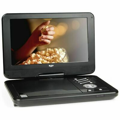 Bush 12 Inch Black Portable DVD Player - Inc Power Adapter Only  EE200