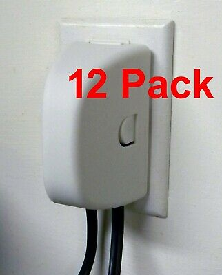 ChildSafe Plug and Outlet Cover For Child Proofing Your Home - 12 pack