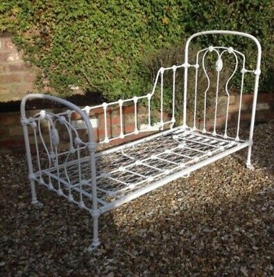 Restored Antique French Day Bed. Easily folds flat for transport