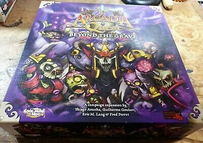 Arcadia Quest Beyond The Grave Campaign Game  Shrink Wrap Free Ship**
