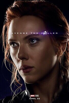 Avengers Endgame 7 Movie Poster Canvas Picture Art Print A0 A1 A2 A3 A4