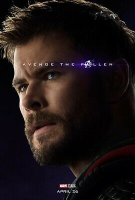 Avengers Endgame 8 Movie Poster Canvas Picture Art Print A0 A1 A2 A3 A4