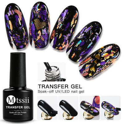 MTSSII Nail Glue Gel For Adhesive Star Galaxy Foil Transfer Sticker Tips Decor