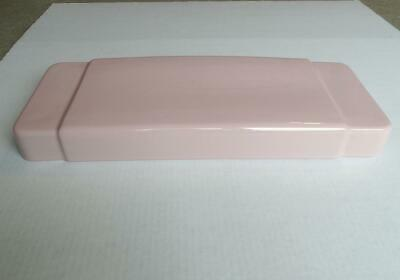 Vintage Case #1000 Pink Toilet Tank Lid - Dated March 21, 1956