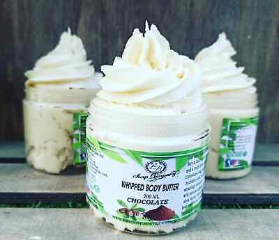 Homemade Body Butter 100% Organic With Coconut ,Cocoa &African Shea Butter 200ml
