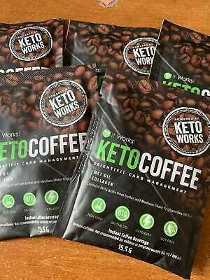 🔥Keto Coffee By It Works 5 sachets