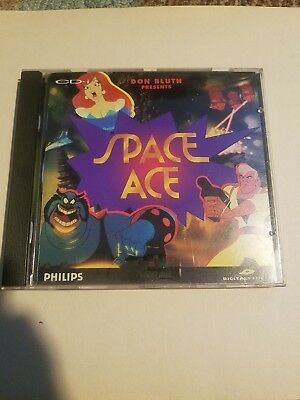 SPACE ACE FOR the Philips CD-i Complete - $79 99 | PicClick