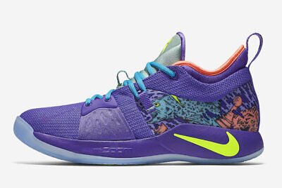 buy online bcd18 13512 Nike PG 2 MM Size 8.5 Mamba Mentality Purple Paul George AO2986 001 Limited